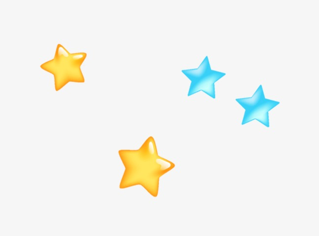 650x481 Blue Yellow Star, Yellow Star, Blue Star Png And Psd File For Free