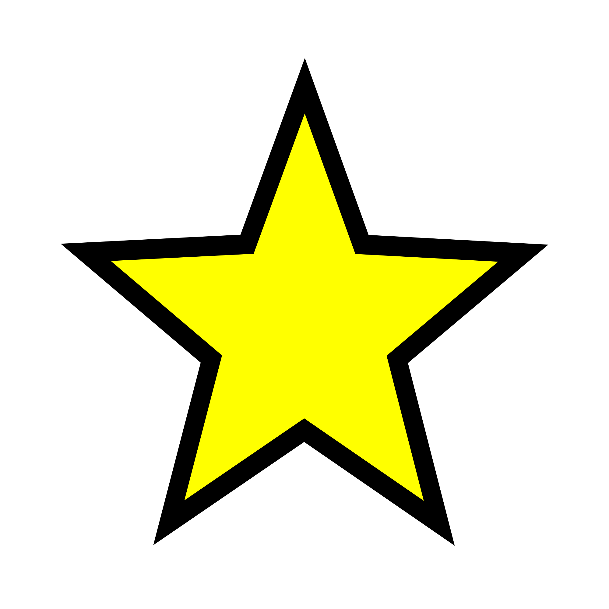 2000x2000 Filefull Star Yellow.svg