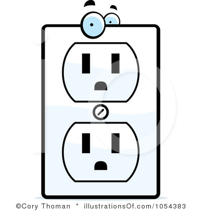 400x420 Electricity Joke Clipart