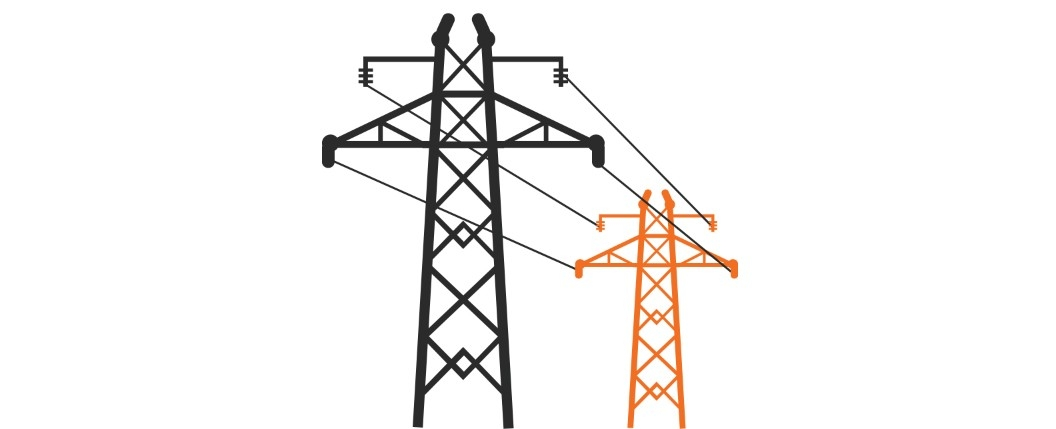 1056x429 Electricity Clipart Electric Grid