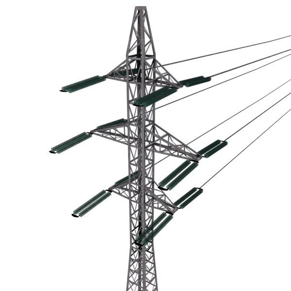 600x600 Electricity Clipart Powerline