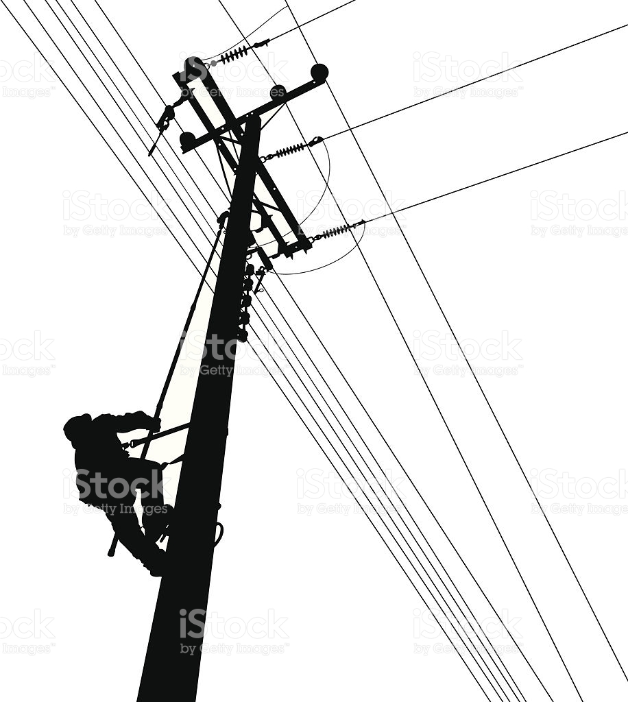 916x1024 Electricity Clipart Telephone Line