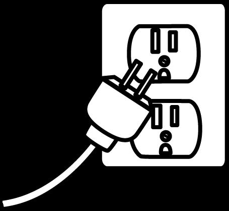 455x418 Electrical Plug Clip Art Clipart Panda