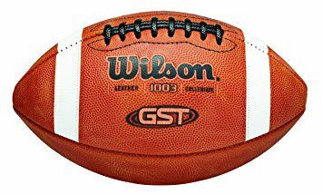 355x214 Wilson Gst Ncaa Leather Game Football Official