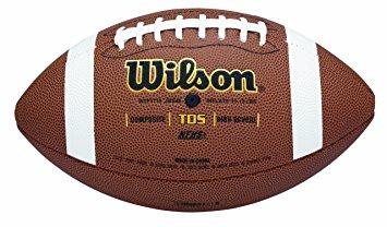 355x208 Wilson Tds Composite High School Game Ball Football