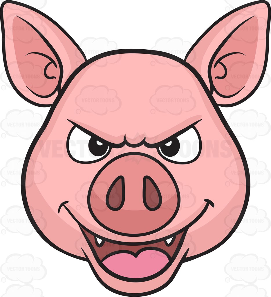 Pictures Of A Cartoon Pig | Free download on ClipArtMag