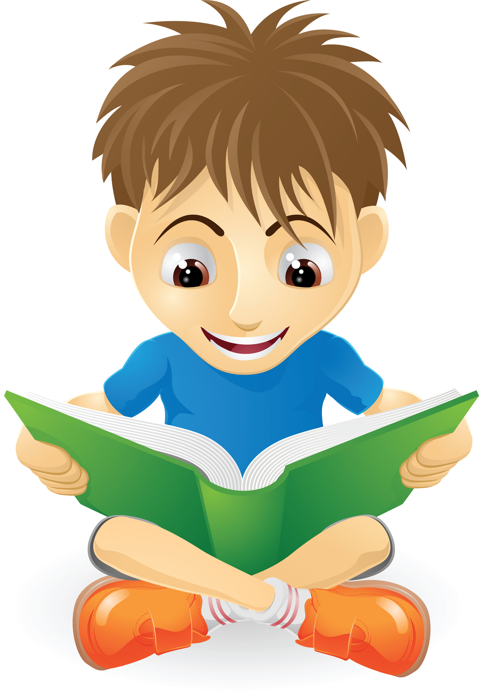 1652x2400 Child Reading Reading Clipart 7