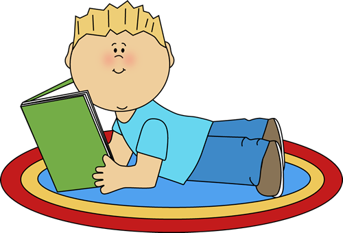 500x340 Child Reading Clipart