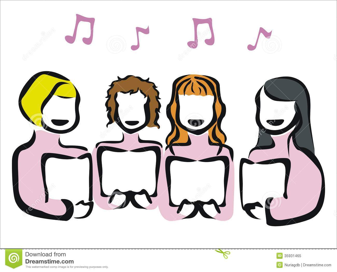 1300x1047 Choir Clipart