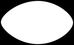 297x180 Football Outline Outline Of A Football Clipart 4