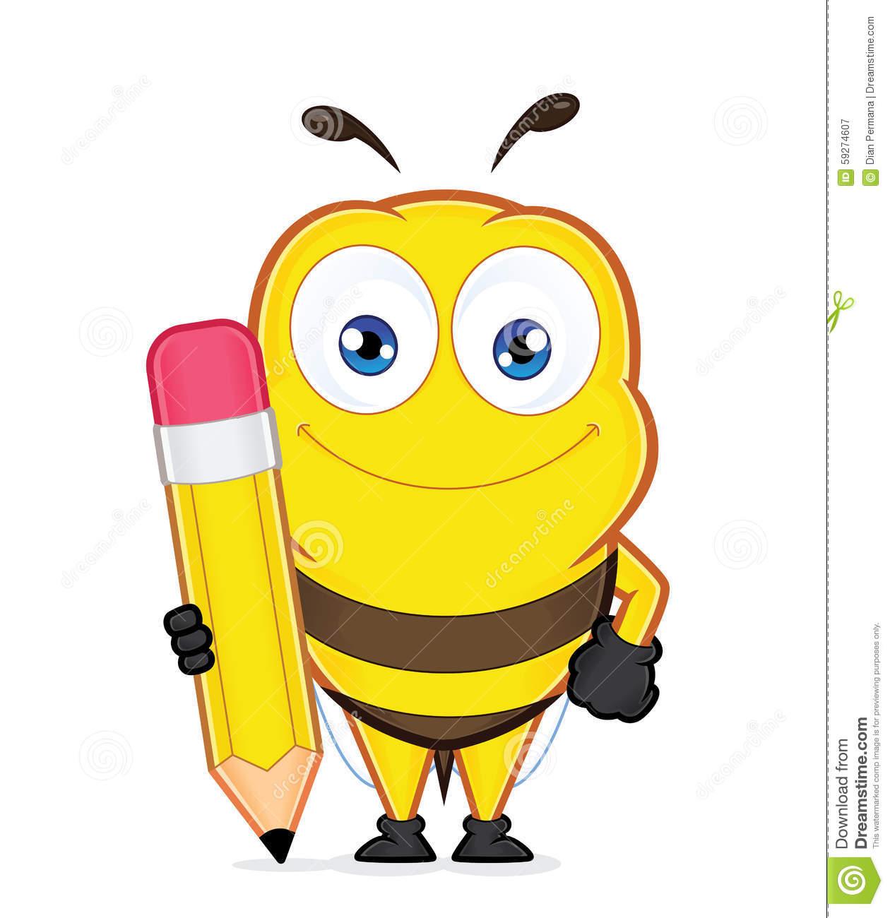 1260x1300 Pencil Clipart Bee