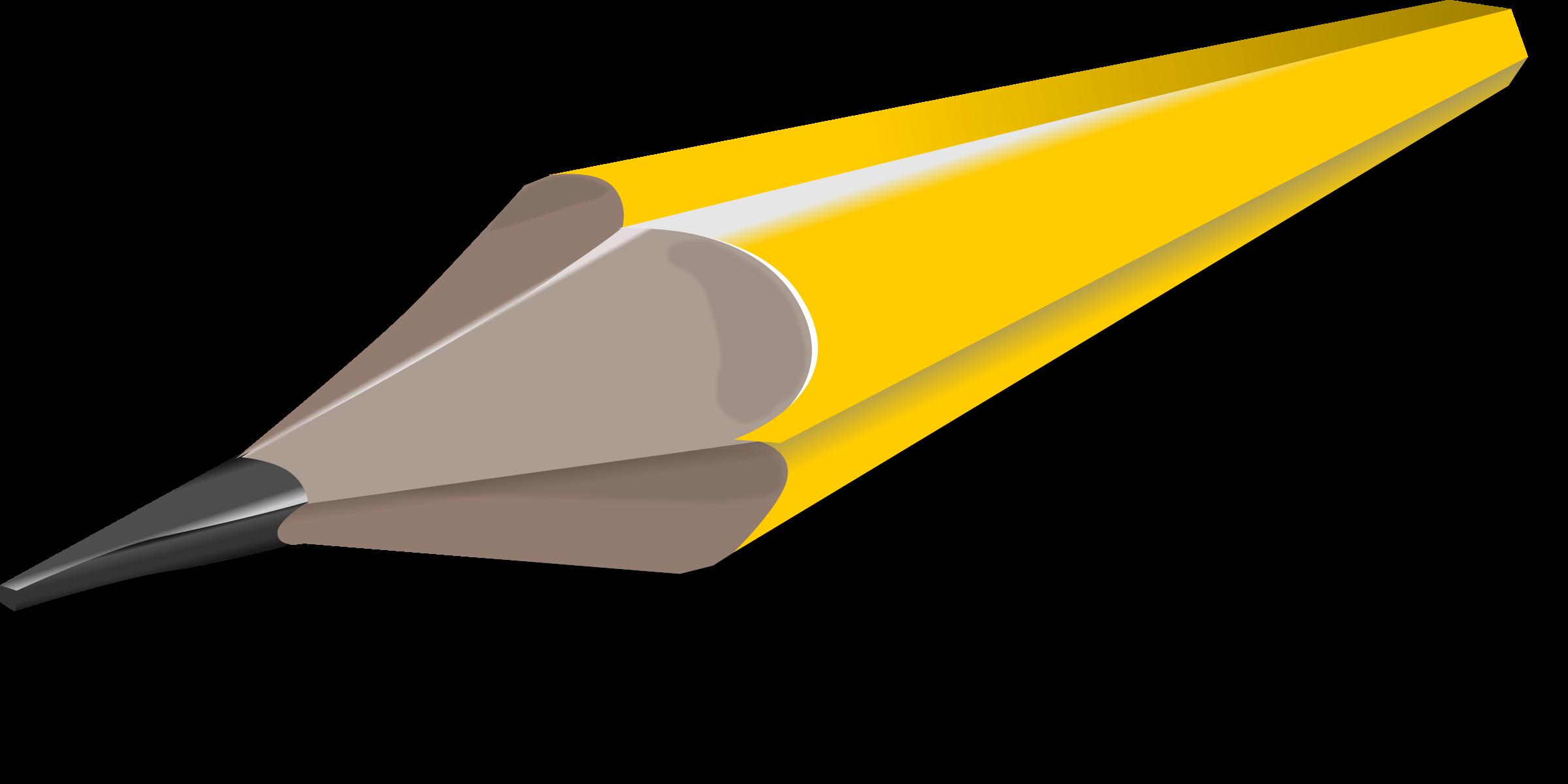 2400x1200 Pencil Clipart Sharp Pencil