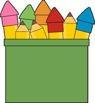 324x350 Pencils In A Pencil Holder Clip Art