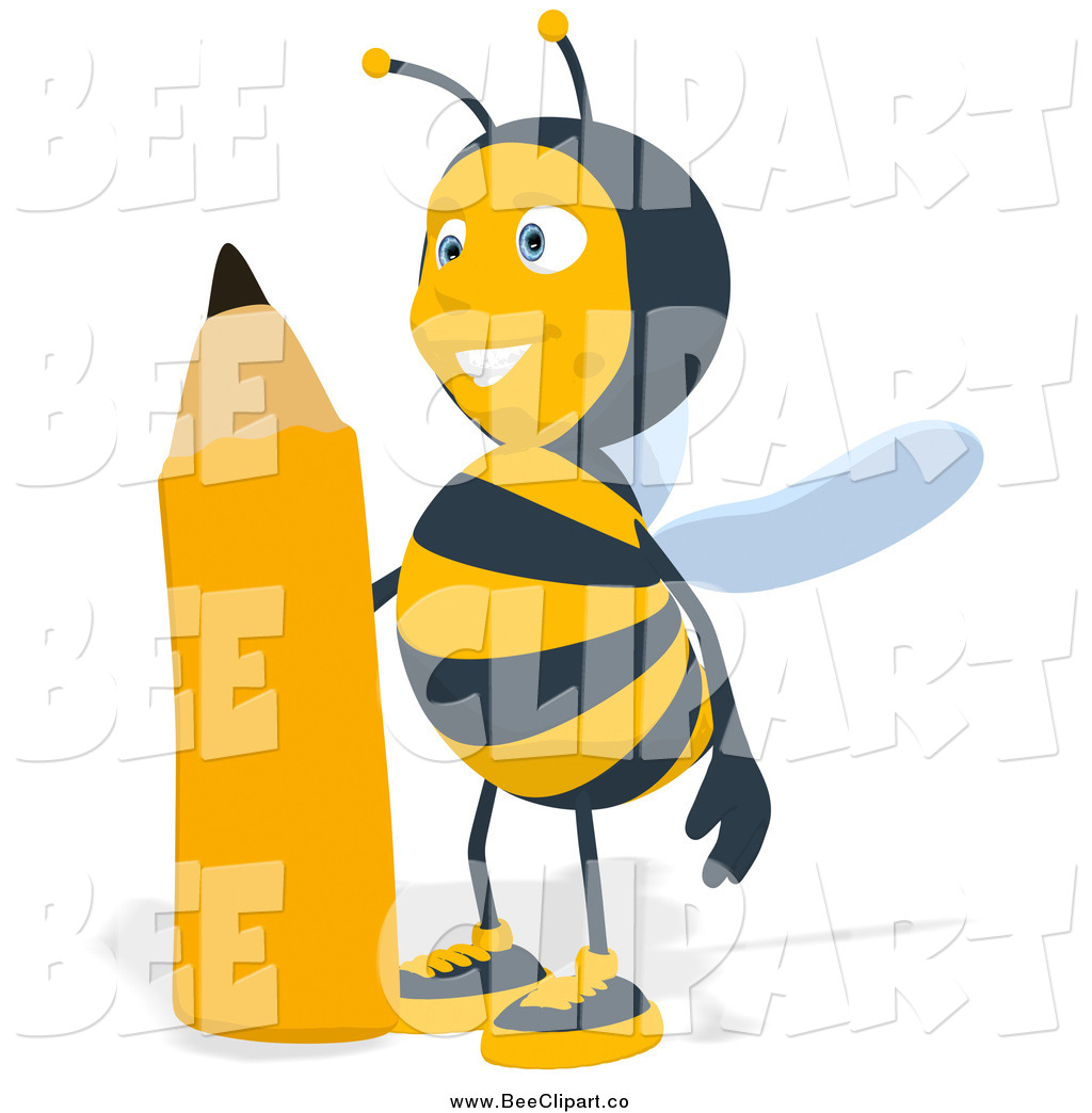 1024x1044 Royalty Free Stock Bee Designs Of Pencils