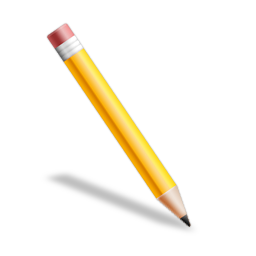 256x256 Picture Of A Pencil