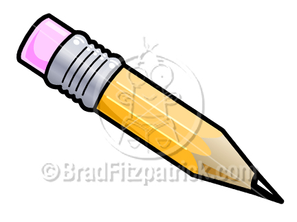432x324 Cartoon Pencil Clipart Picture Royalty Free Pencil Clip Art