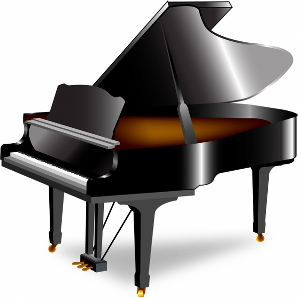 600x599 Free Piano Keyboard Clipart Free Vector Download (3,303 Free