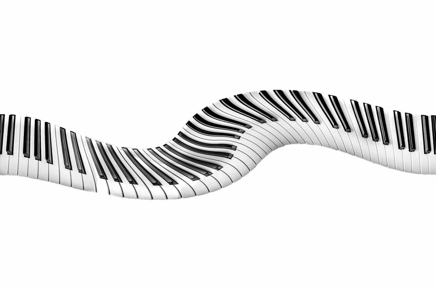 1517x1004 Keys Drawing Art U Clipart Download Keyboard Black And White Panda