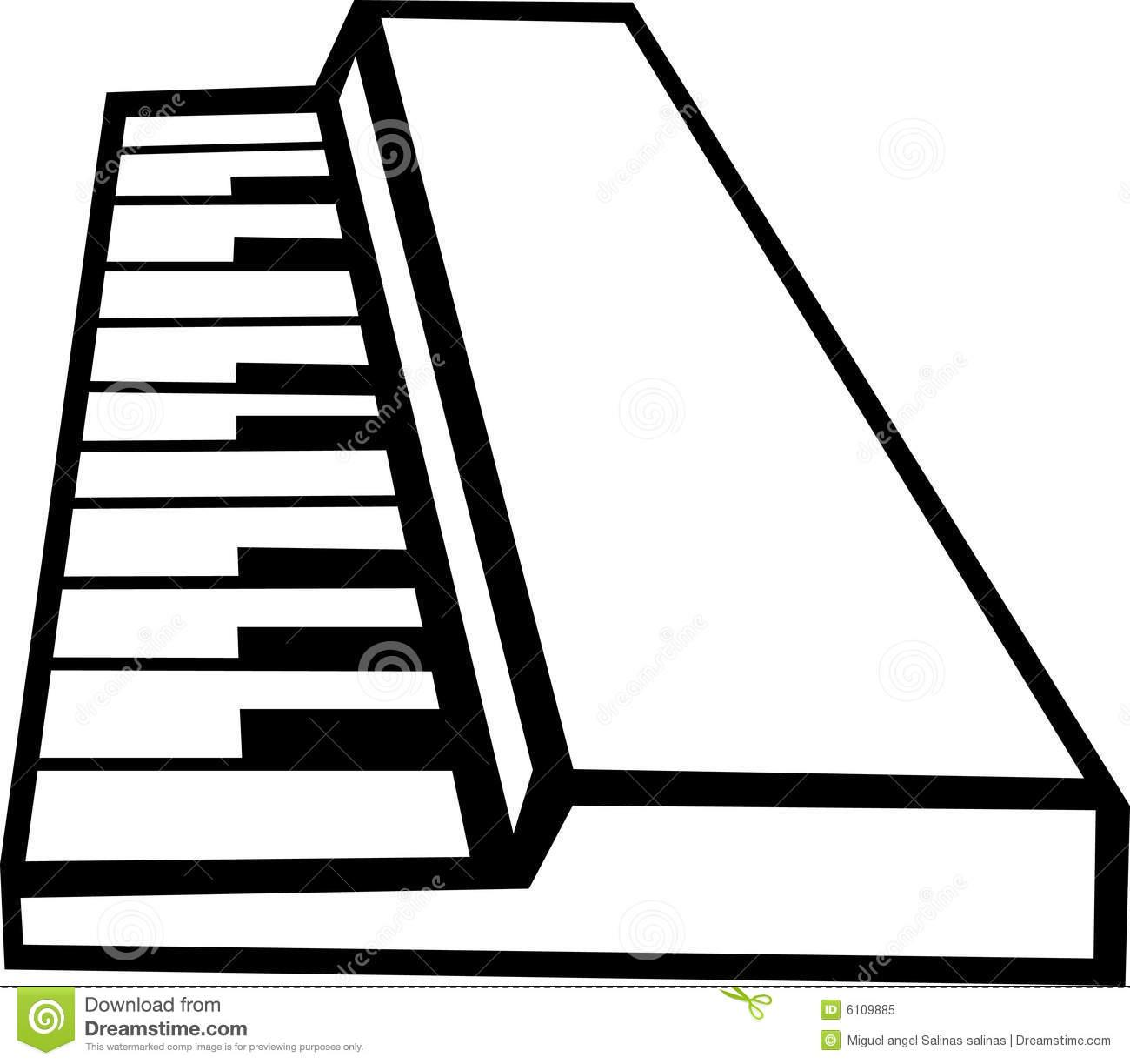1300x1223 Piano Keyboard Clipart Clipart Panda