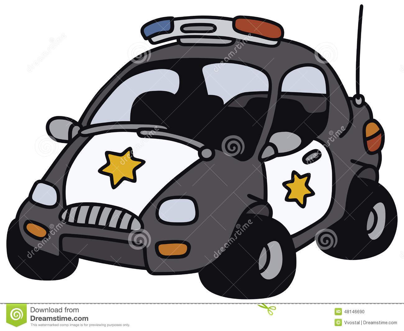 1300x1067 Drawn Car Police Car