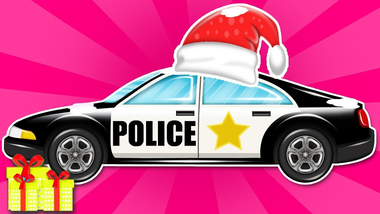 1280x720 Police Car Vehicle Assembly Cop Car Cartoon Car Garage