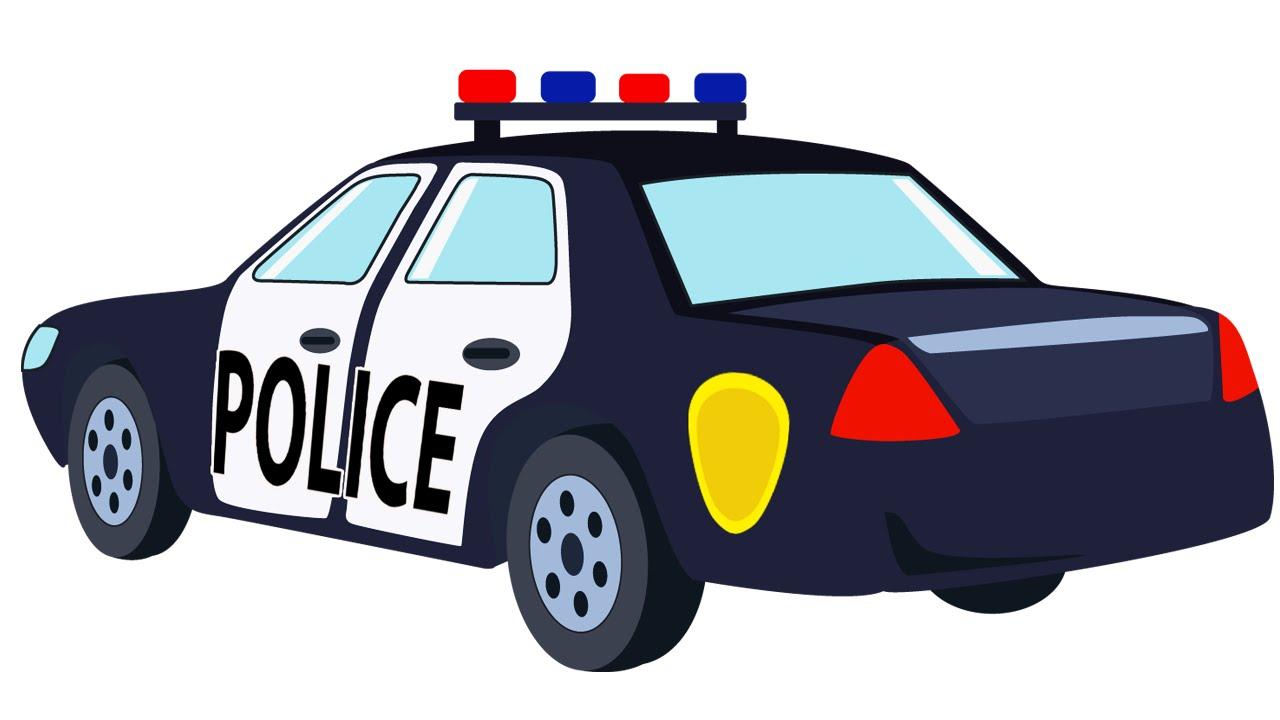 1280x720 Police Cartoon Collection