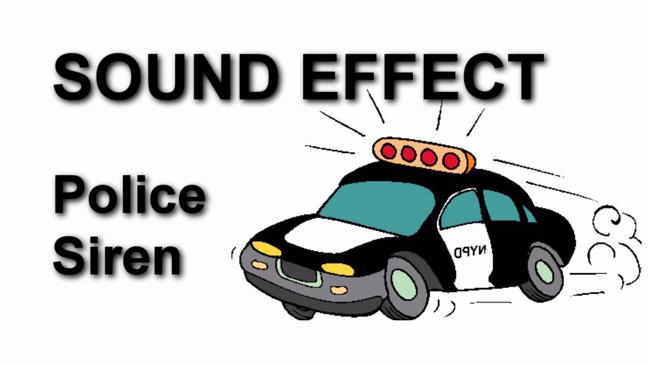 1280x720 Police Siren No 2 Sound Effect