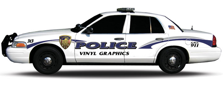 720x282 Police Car Decals Graphic Robotexpo Clipart