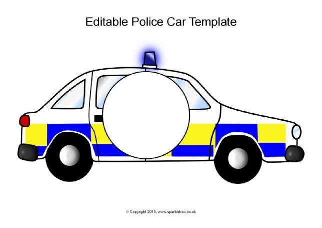 644x455 British Police Car Clipart