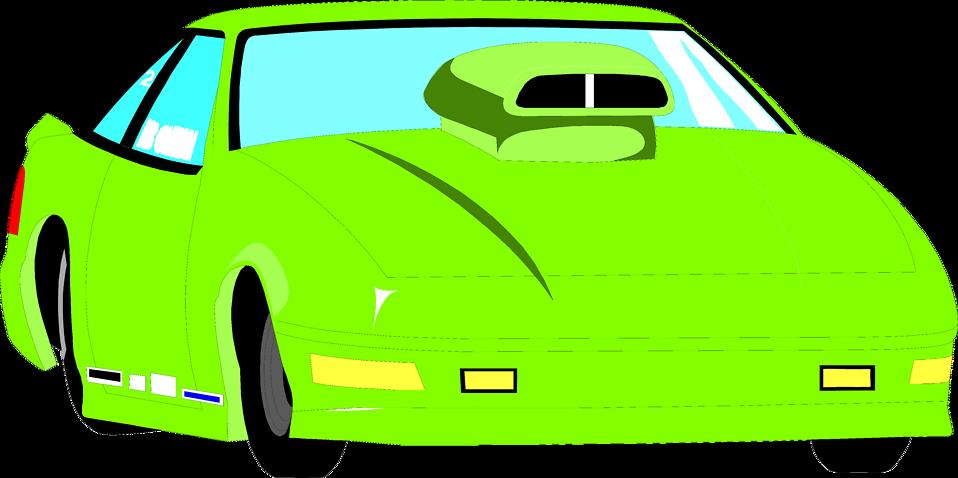 958x478 Race Car Clipart Green