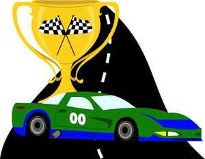 300x233 Race Car Clipart Image Clip Art Image Of A Green Cartoon Race Car