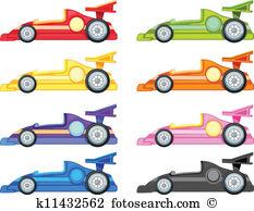 233x194 Clipart Of A Race Car