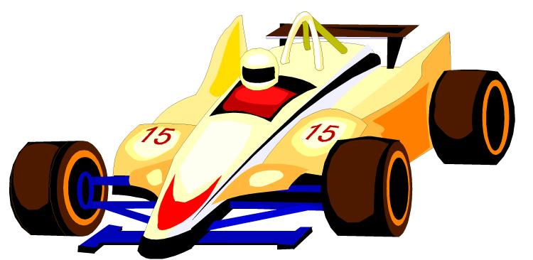 750x366 Formula One Racecar Clipart