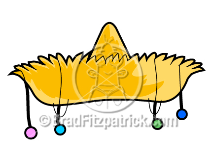 432x324 Cartoon Sombrero Clip Art Sombrero Clipart Graphics Vector