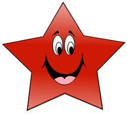 252x225 Free Star Clipart