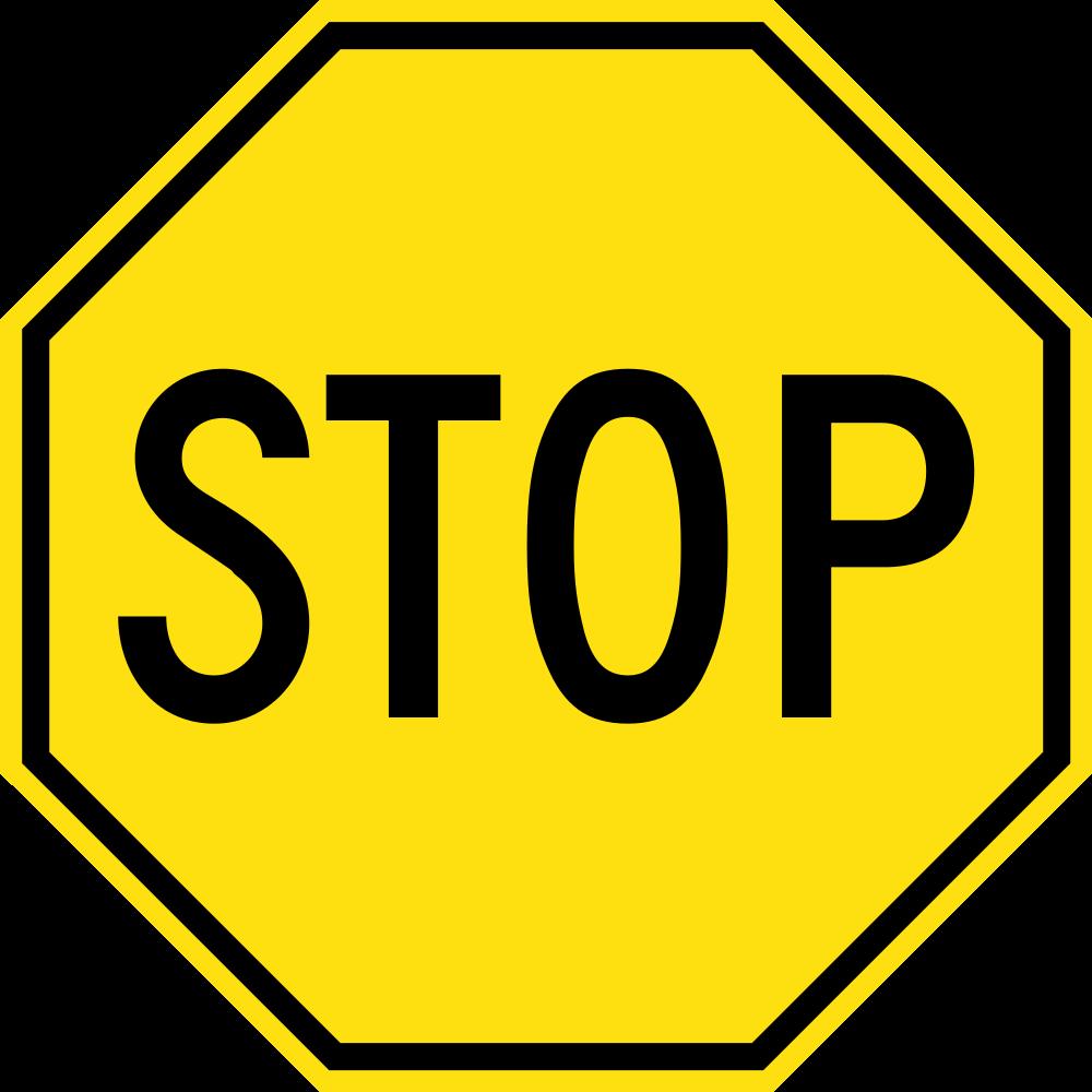 1000x1000 Fileyellow Stop Sign.svg