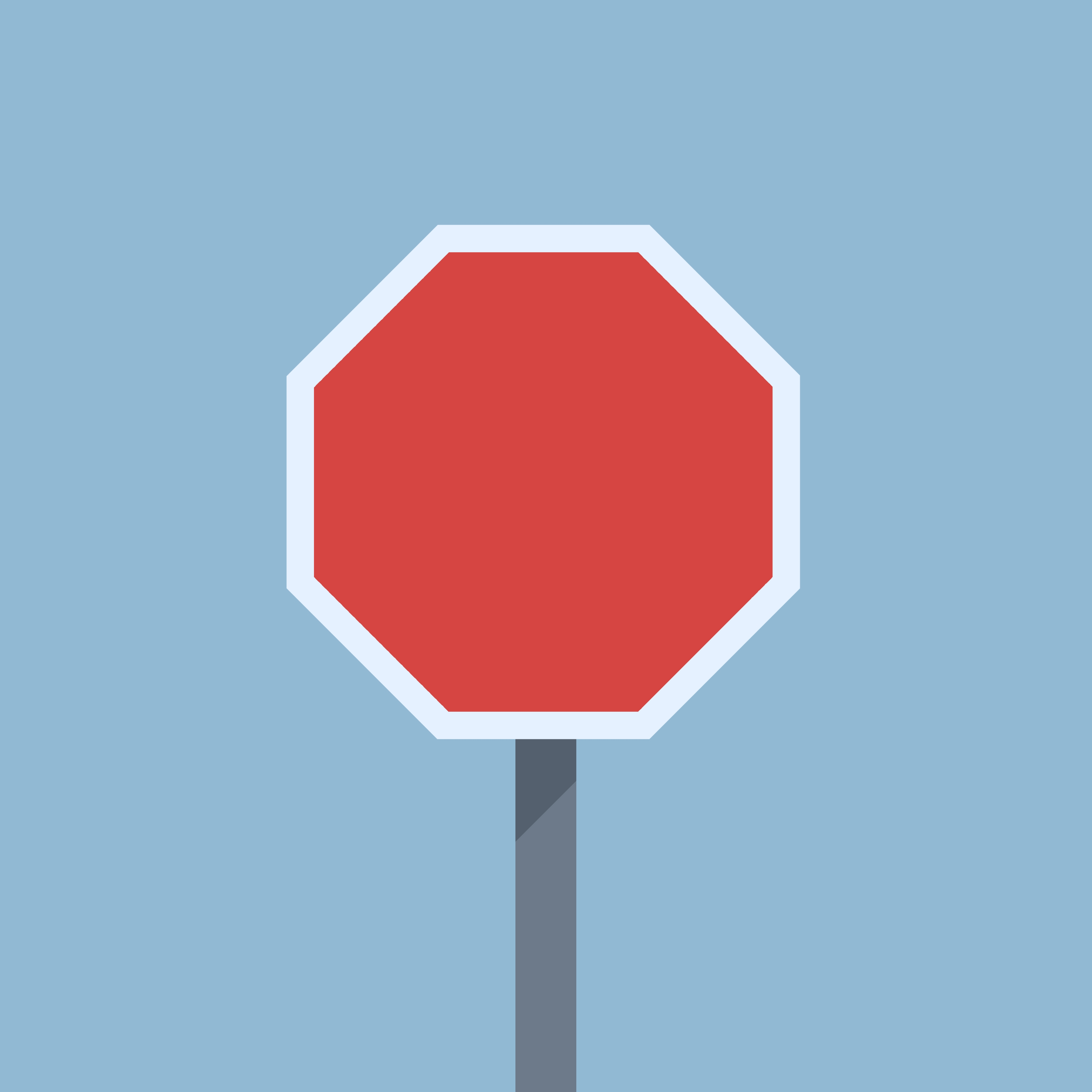 4000x4000 Red Stop Sign