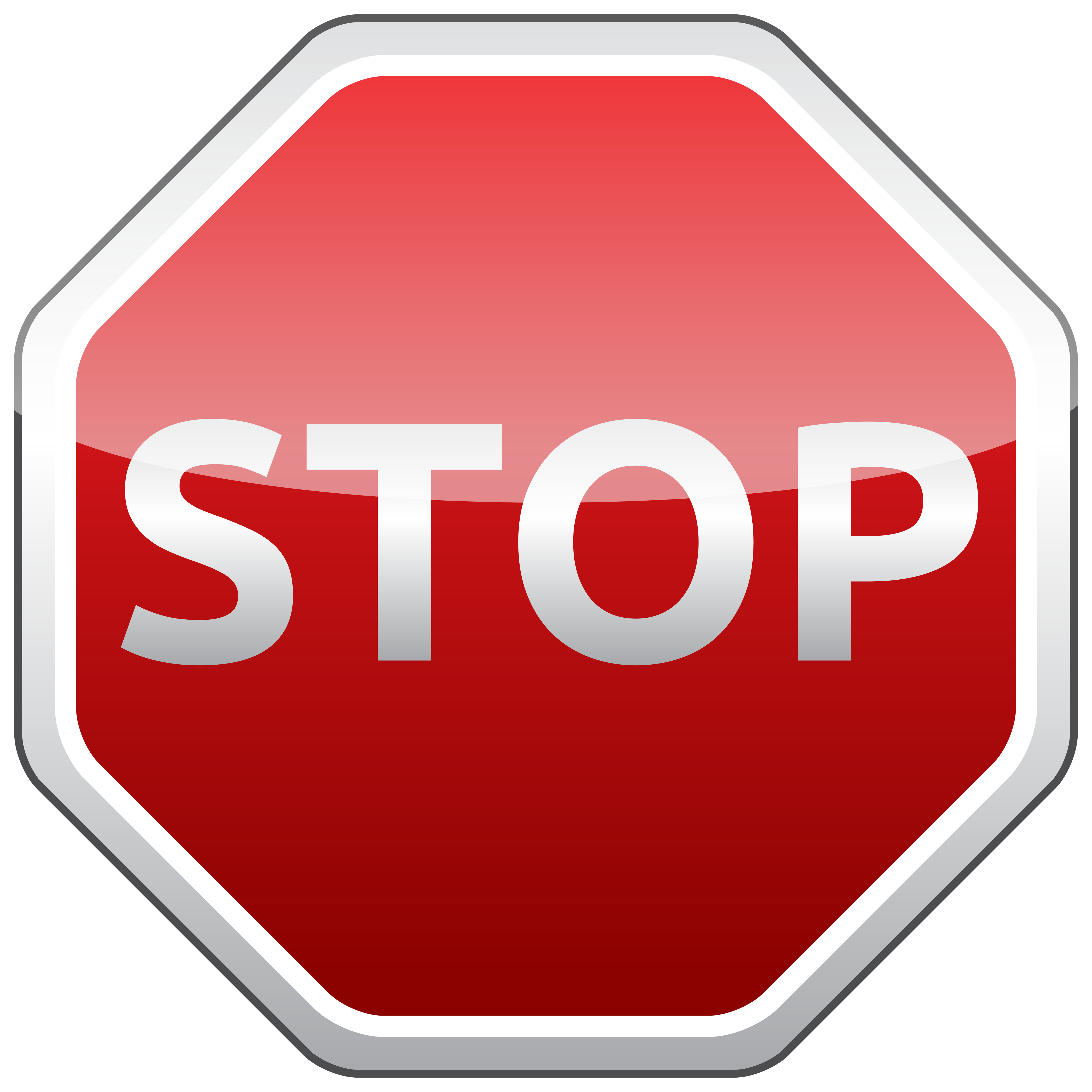 5000x5000 Stop Sign Png Clipart
