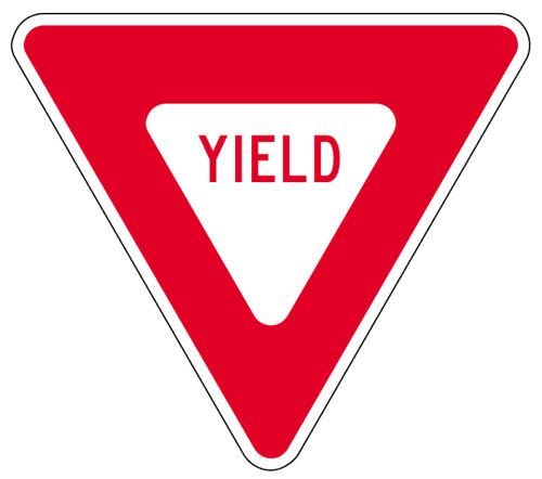 500x442 Stop Sign Vs. Yield Sign The Captain's Memos