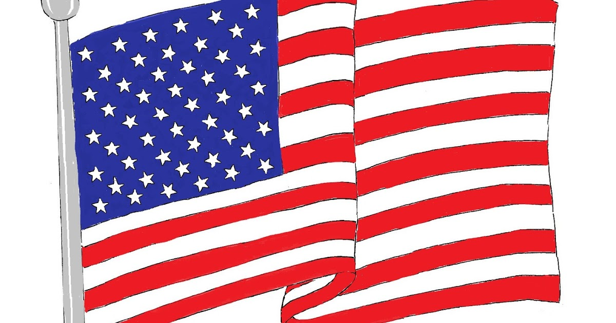 1200x630 Waving American Flag Art Class Ideas