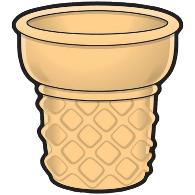 400x400 Ice Cream Cone Without Ice Cream Clipart Amp Ice Cream Cone Without