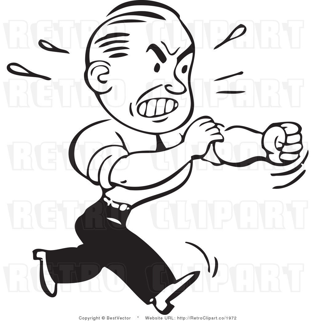 1024x1044 Angry Man Clipart