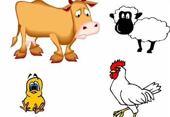 350x241 Farm Clipart Animals