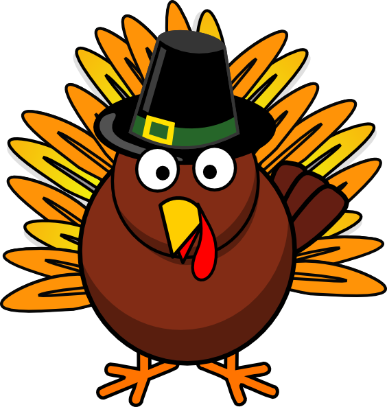 564x593 Thanksgiving Turkey Clip Art