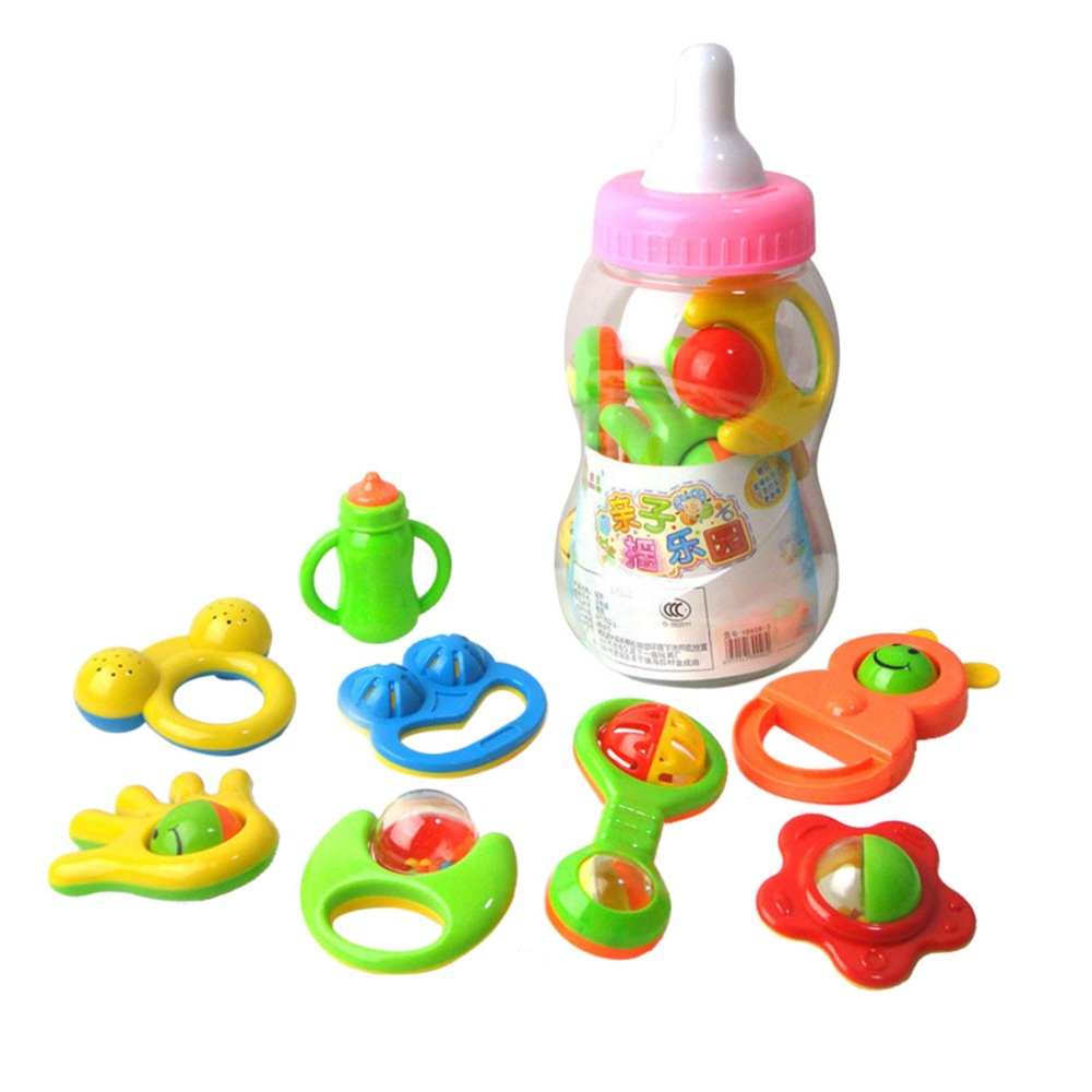 Pictures Of Baby Bottles And Rattles