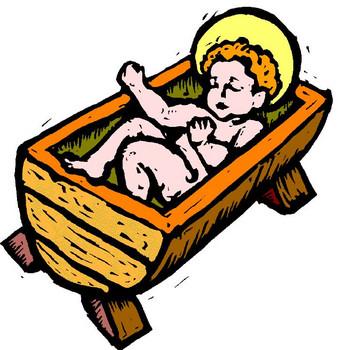 338x350 Baby Jesus Cartoon