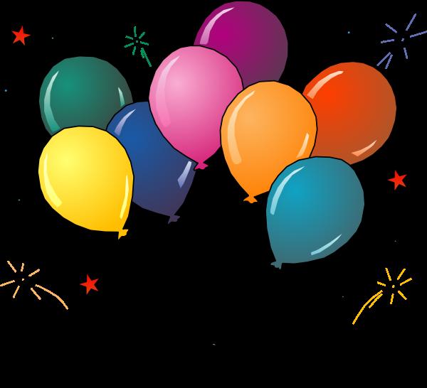 600x546 Balloon Clipart