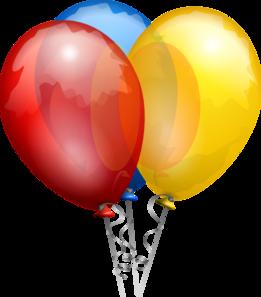 261x297 Ballons Clip Art