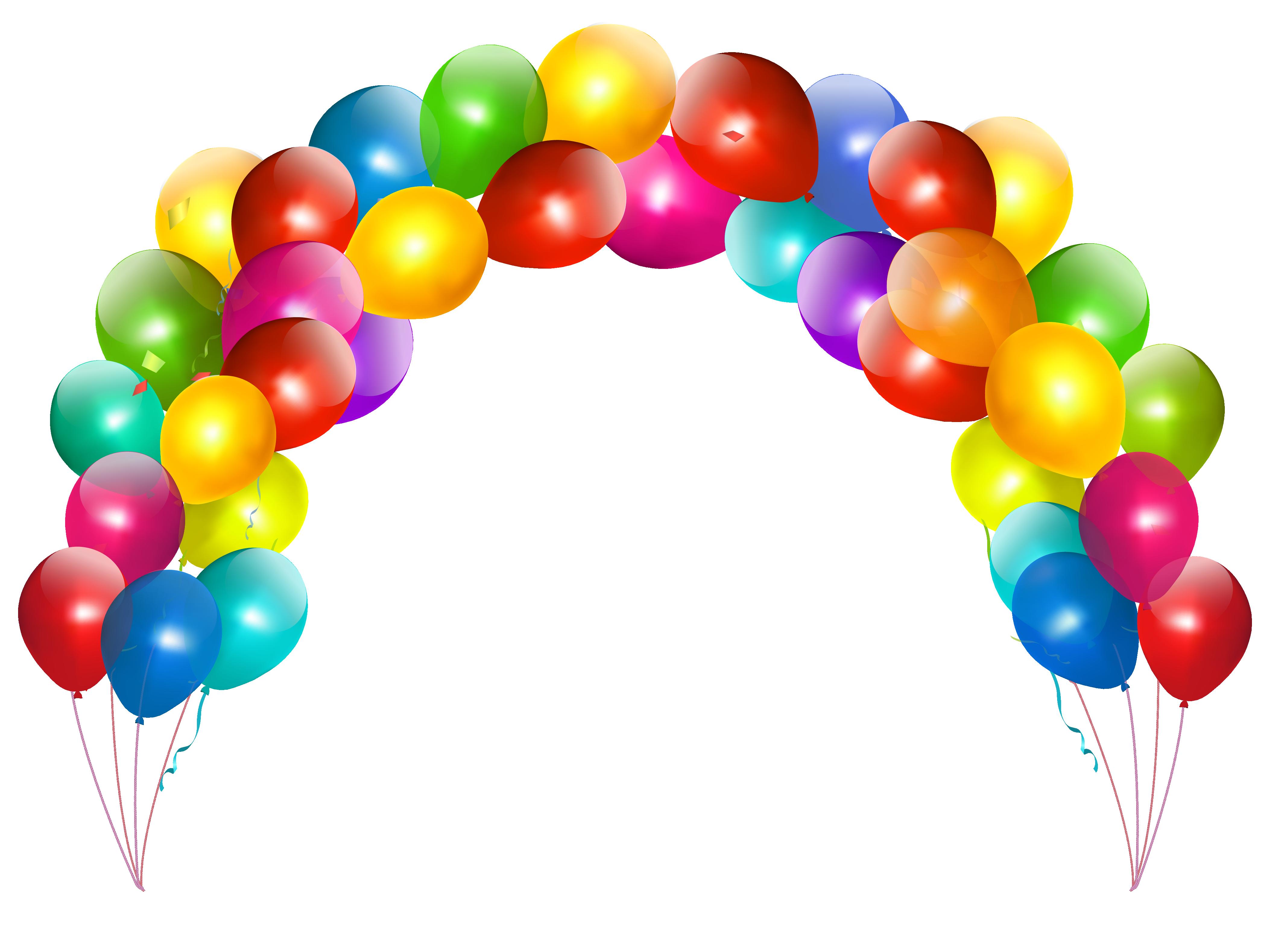 4182x3158 Ballons Png
