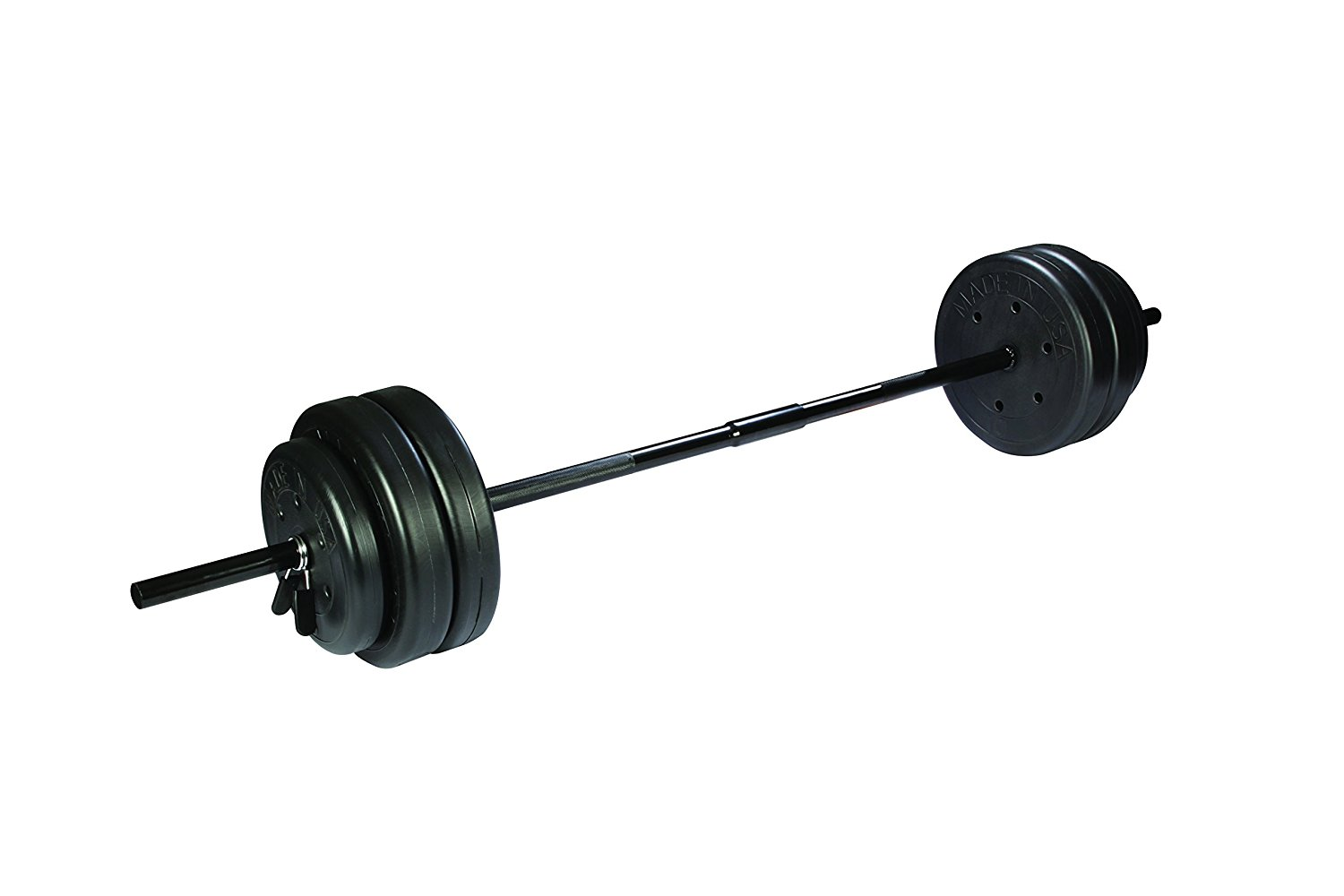 1500x1000 Us Weight Duracast Barbell Weight Set, 55 Lb Sports